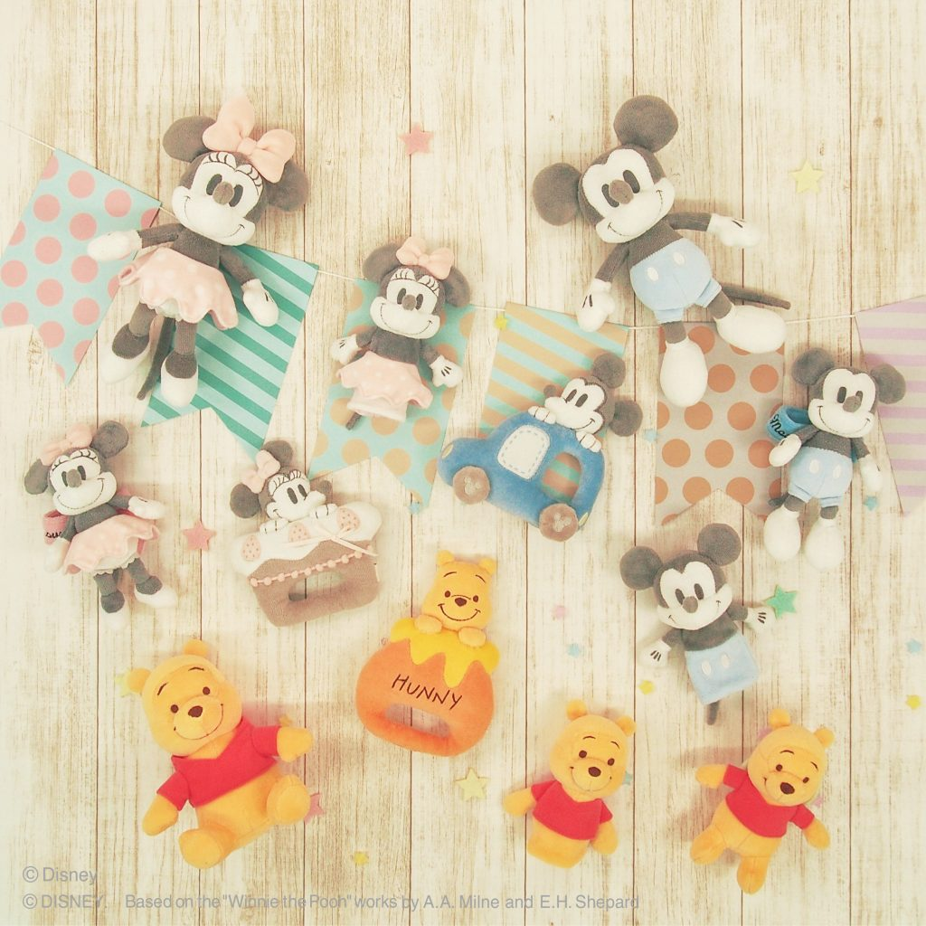【Disney Baby Collection】商品イメージ